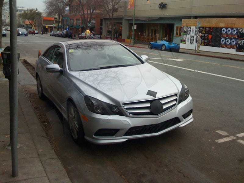 2010 Mercedes E500 Coupe: New Coupe, New Name