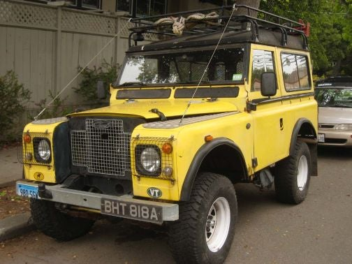 Some Sort Of Land Rover