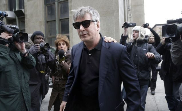 Alec Baldwin Arrested After Biking the Wrong Way in NYC