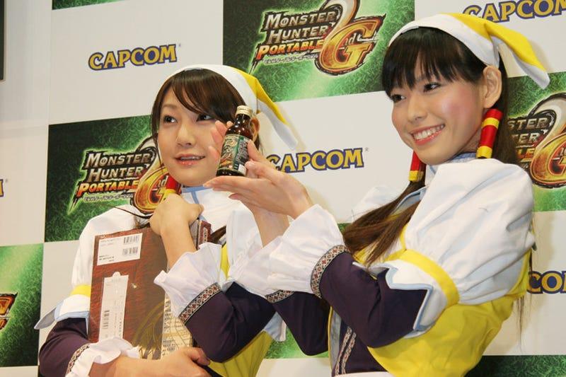 Monster Hunter Sets PSP Record In Japan