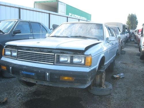1982 Datsun Maxima Wagon Down On The Junkyard