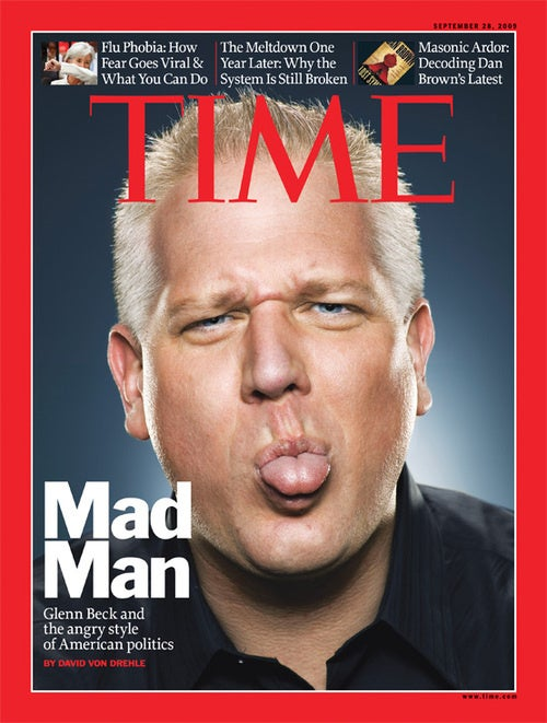 Leftist 'Terrorizer' of Children Is Now Glenn Beck's Official Portraitist