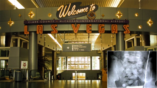 German Arrested in Vegas Airport Had 1.2 Kilos of Cocaine in His Stomach