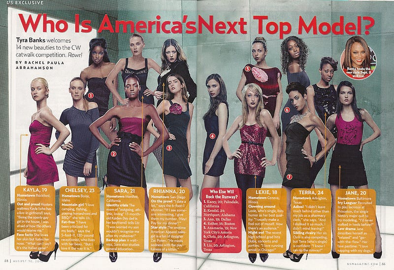 Revealed: The Ladies Of America's Next Top Model's Next Cycle