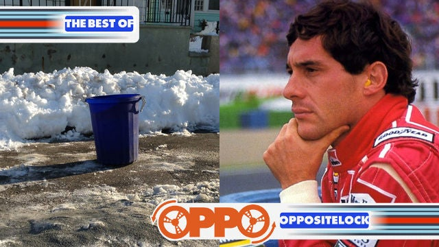 Your Dug Out Parking Spot and Ayrton Senna - My Childhood Hero
