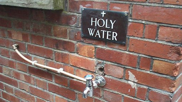 The first ever vending machine stopped people from stealing holy water
