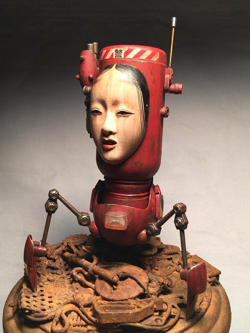 Creepy Japanese Toy : Custom toys and figures made for wasteland nightmares