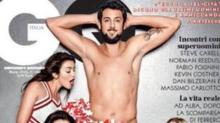 Nearly Naked Marco Belinelli Poses For <i>GQ</i> Italia Cover