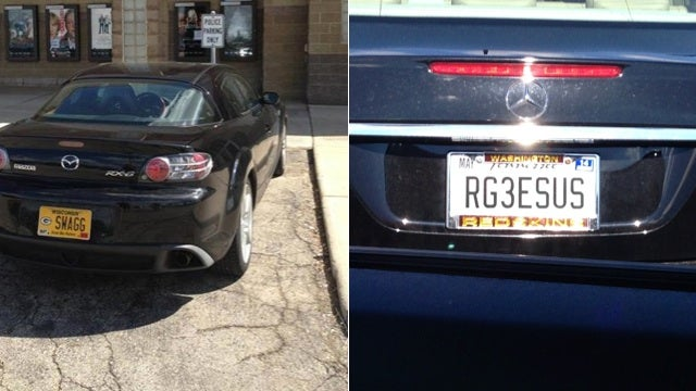 Which One Of These NFL-Themed Vanity Plates Sucks More?