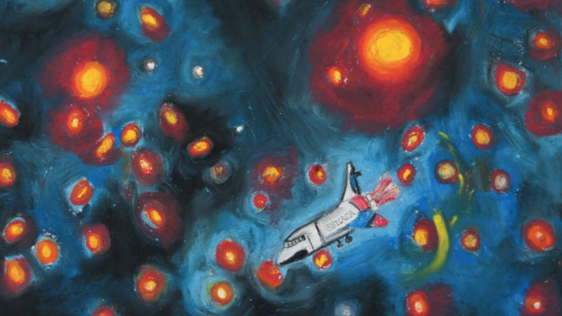 The Greatest Space Art Created by Children