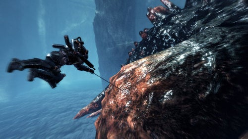 Lost Planet 2 Screens Show The Belly Of The Beast
