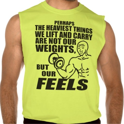 Also, my new workout shirt.