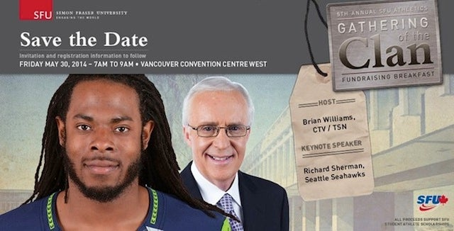 Richard Sherman To Attend Clan Rally