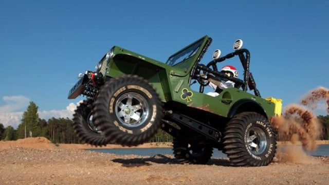 "1:1 Scale Tamiya ""Wild Willy"" Is A R/C Car Brought To Life"