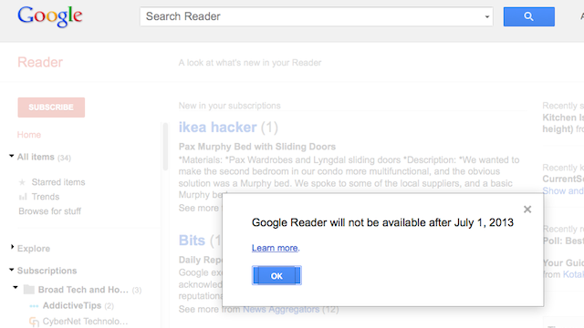 RSS Inventor Couldn't Care Less About Google Reader's Death