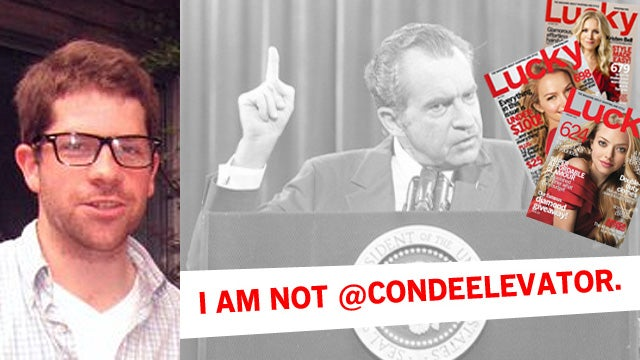 Accused Condé Elevator Tweeter: 'I Am Not @CondeElevator'