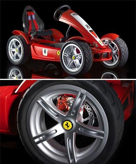 Ferrari Pedal Car Fuels Pre-Tween Envy
