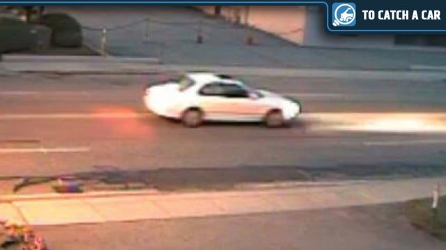 Identify This Light-Colored Sedan And Help Catch A Hit-And-Run Driver