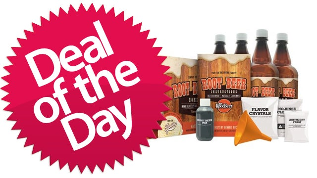 The Root Beer Making Kit Is Your Mixin'-Up-A-Batch-Of-Sassafrass Deal of the Day