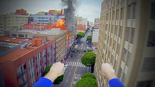 Superman Returns... a GoPro to it's owner in this clever fan vid.