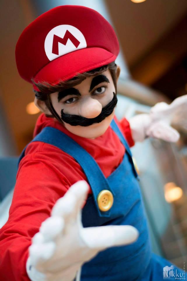 Human Family Transformed Into Mario, Luigi & Friends