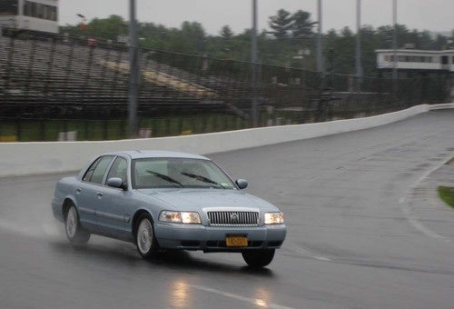 Mercury Grand Marquis: At Home On The Track!