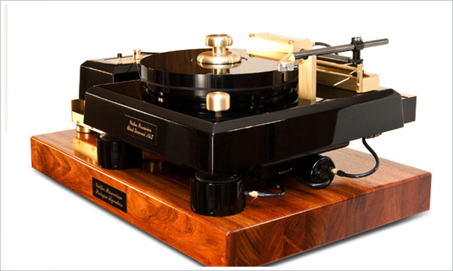 This Turntable Probably Costs More than Anything in Your House and Weighs More than You