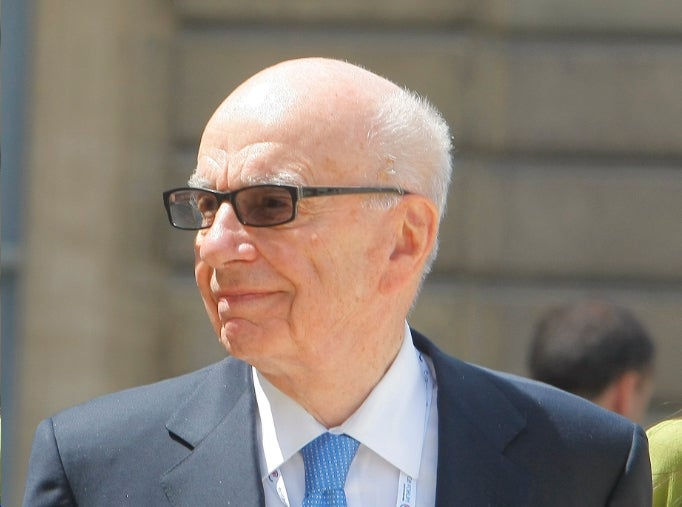 Rupert Murdoch Ain't Going Anywhere