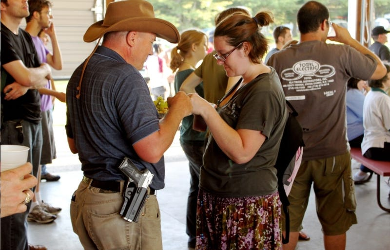 Americans Demand Everyone Always Carry Guns Everywhere