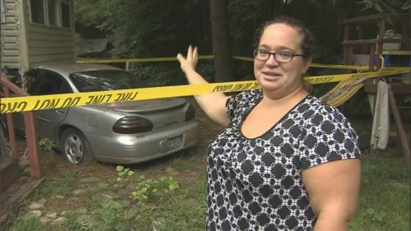 Car Crashes Into Woman's House In July, Is Still There
