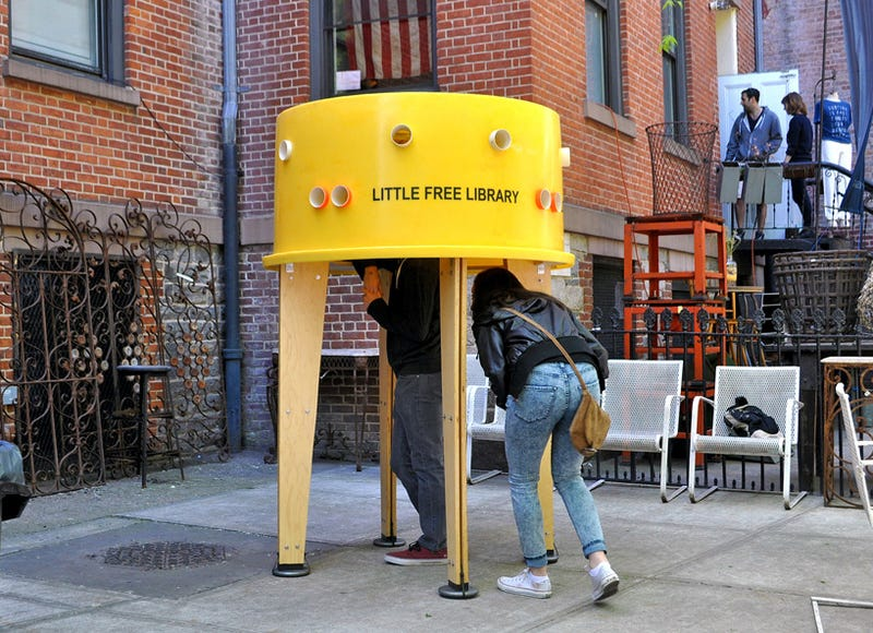 The Story Behind Ten Tiny Libraries That Popped Up in NYC This Summer