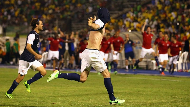 US Soccer Overcomes Late Defensive Lapse To Best Jamaica In Thriller
