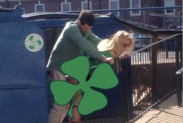 Police Seek Couple Who Had Public Dumpster Sex on St. Patrick's Day