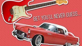 What Does a Ford Thunderbird Have In Common With a Fender Strat?
