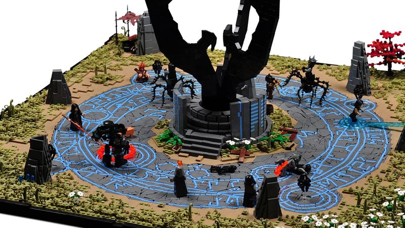 LEGO Fan Pays Tribute To TheElder Scrolls OnlineBattles