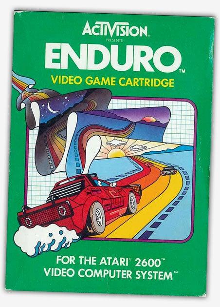 This Guy Built A Sit Down Racing Sim Rig For An Atari Racing Game