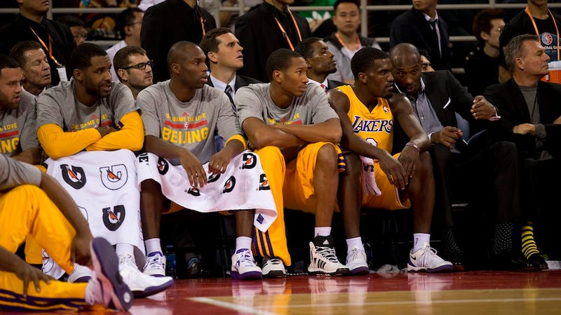 You Know He's Going To Try, But Should Kobe Save The Lakers?
