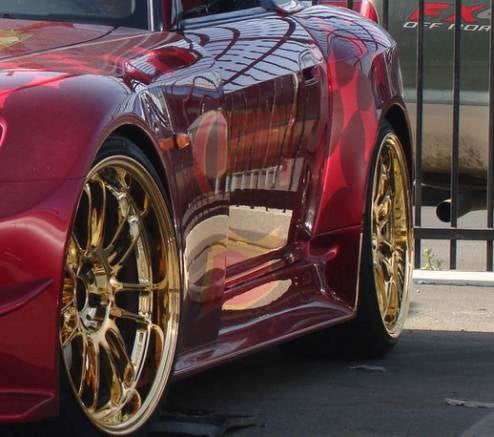 24k Gold Plated Volk Racing RE30 Wheels