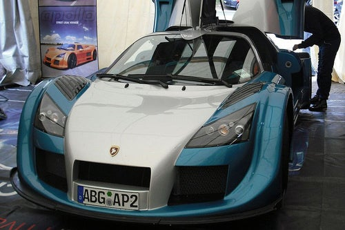 Gumpert Apollo Record Lap Car