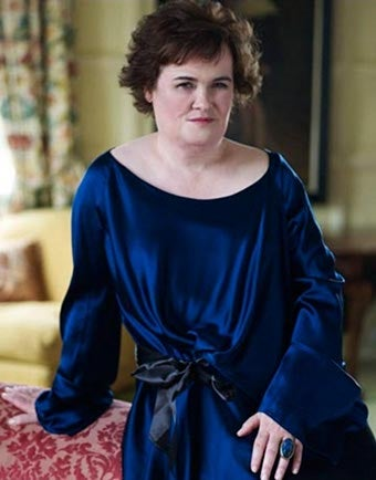 Susan Boyle Goes Glam For Harper's Bazaar