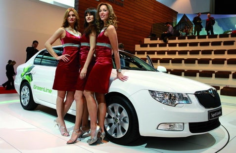 Skoda Superb GreenLine's Only Emission Is The Sex And CO2