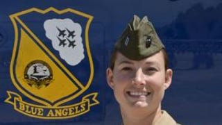 First Female Pilot Joins Blue Angels Flight Demonstration Sqn.