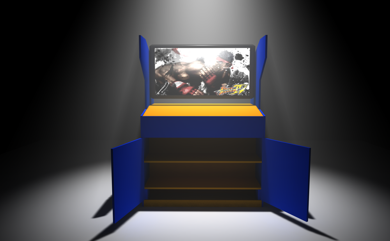 DIY Street Fighter IV Cabinets Make The Best Birthday Presents