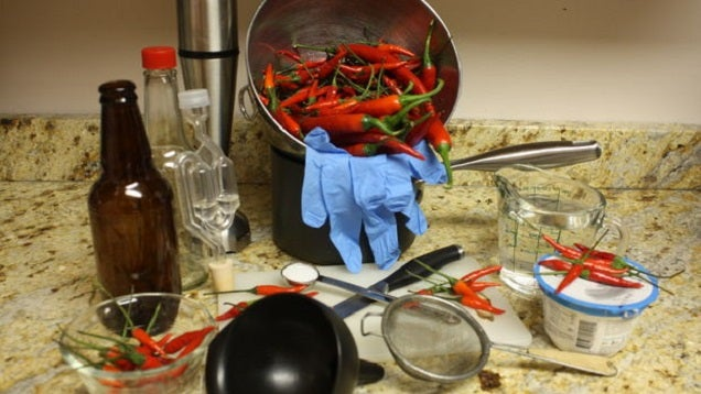 Ferment Your Own Tabasco-Style Hot Sauce Using Greek Yogurt