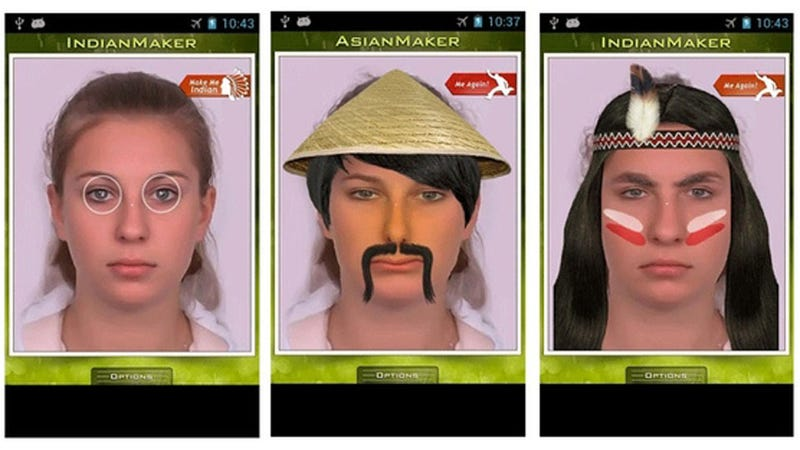 "Google Selling Ridiculous ""Make Me Asian"" and ""Make Me Indian"" Apps in Their Store"