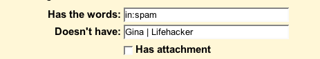 Get Rid of Gmail's Unread Spam Count