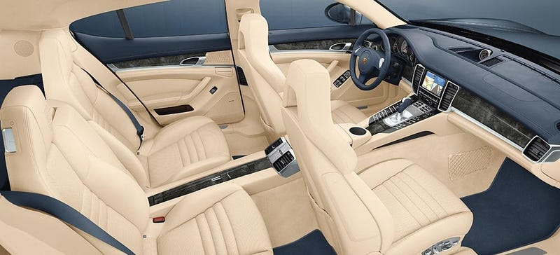 Porsche Panamera, Turbo Shows Us Insides, Starts At $89,800