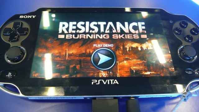 Resistance: Burning Skies Is the PSP's Dream Come True
