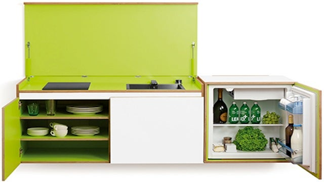 Here's the Only Tiny Kitchen You'll Ever Want to Brag About