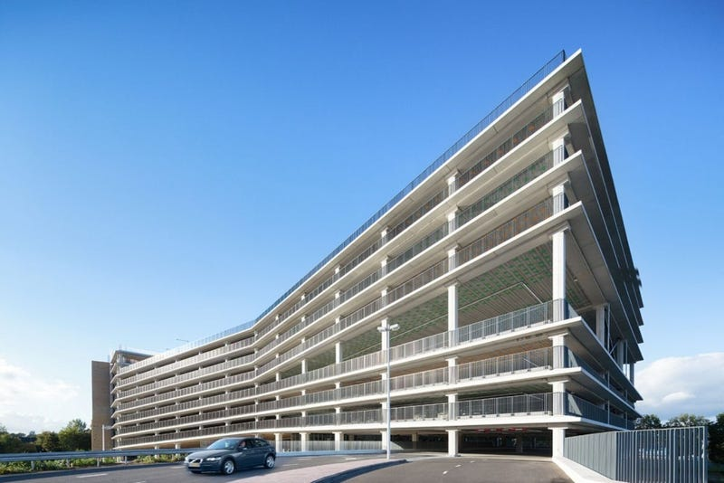 Commuters Can Park and Climb at This Unlikely Parking Garage